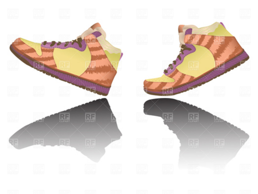 Feet clipart walking foot Shoe com Walking Clipartion Feet