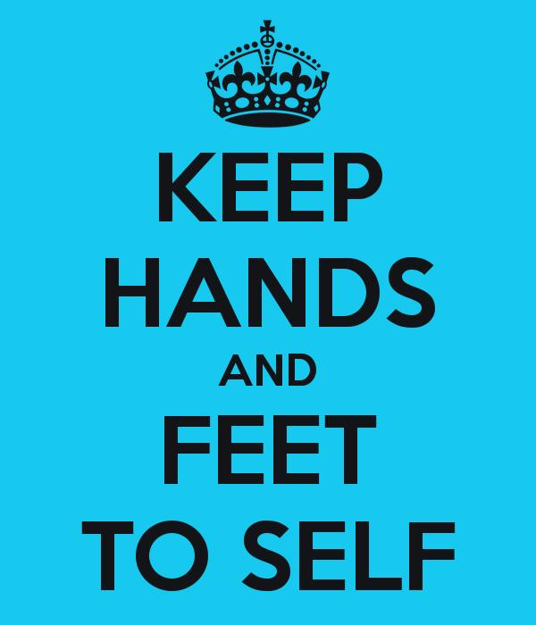 Feet clipart yourself clipart Clipart Keep Feet Hands To