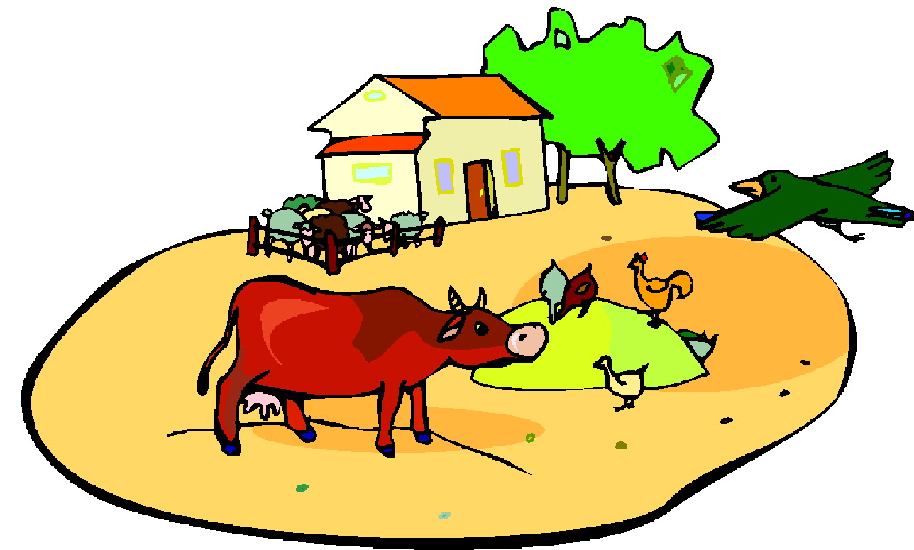 Cattle clipart indian farming #9