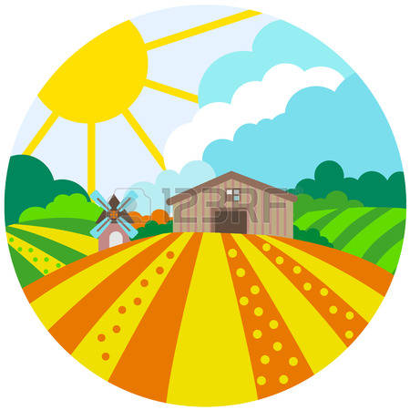 Feilds clipart agriculture field #1