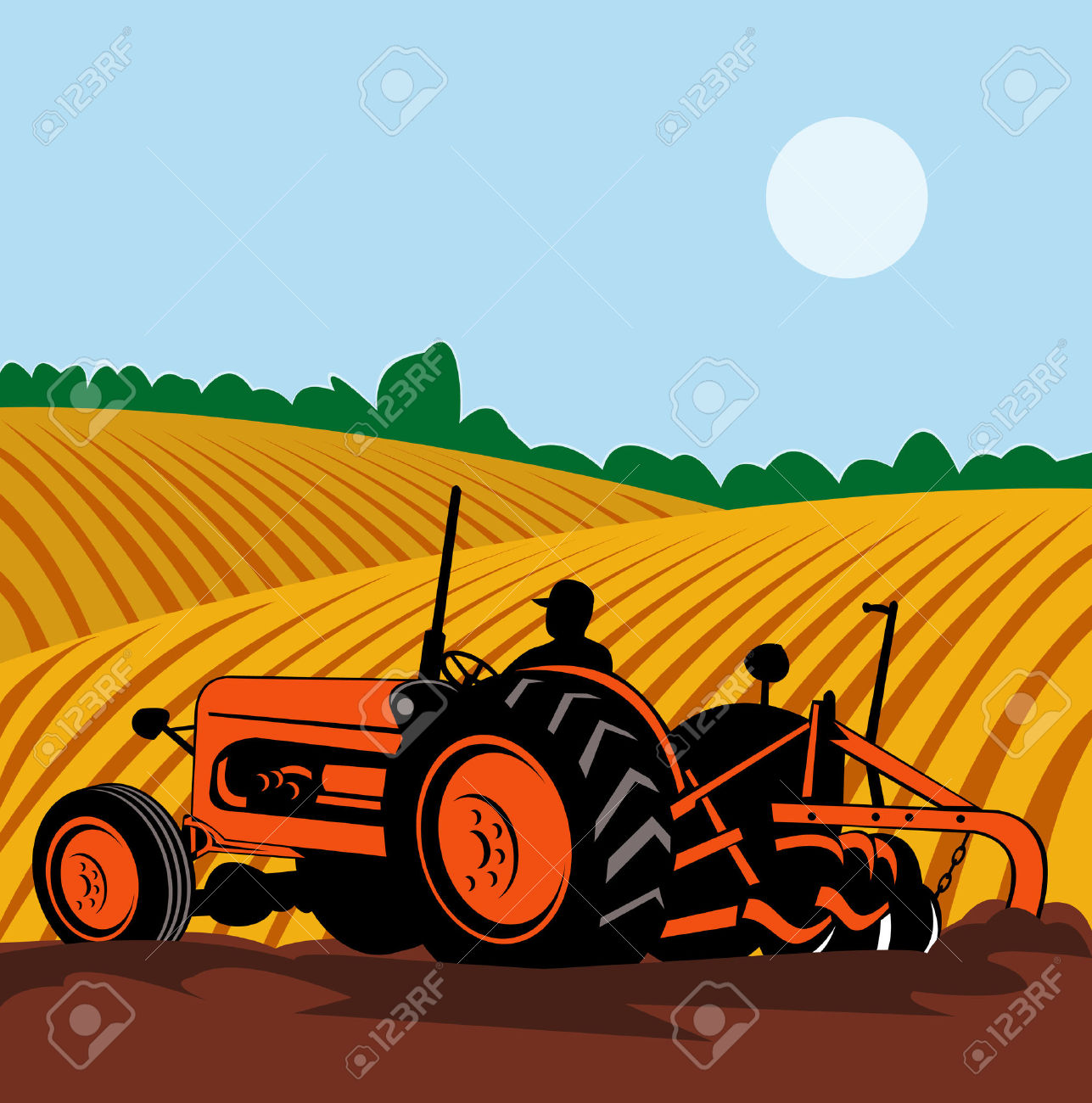 Feilds clipart agriculture field #4