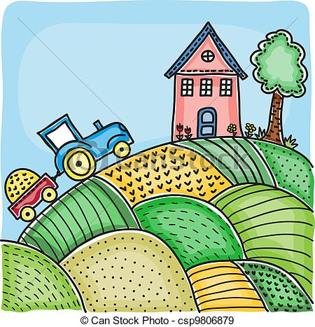 Feilds clipart agriculture field #3