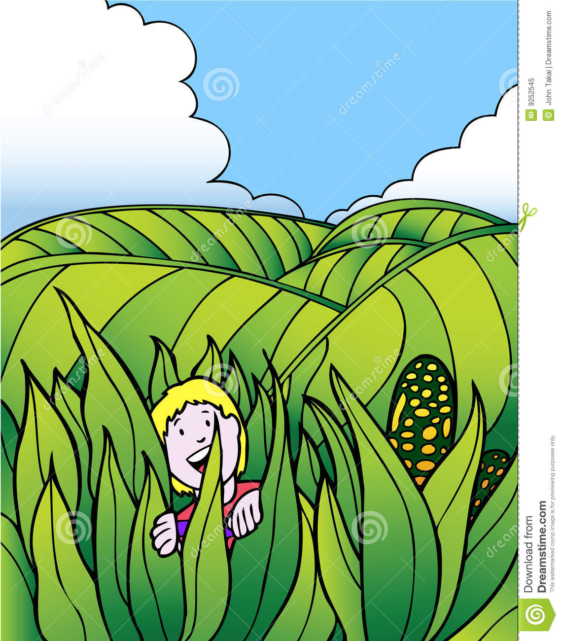 Feilds clipart corn field Child Fields Field Adventure Clipart