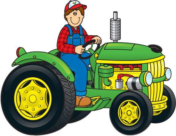 Feilds clipart farm machinery #3