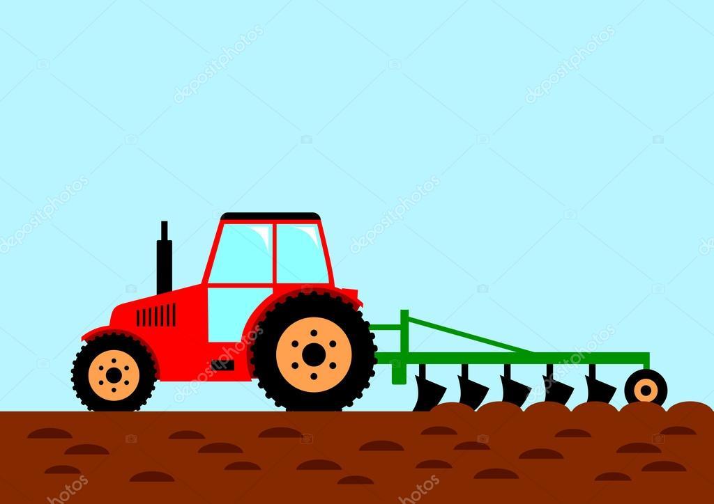 Feilds clipart farm machinery #7