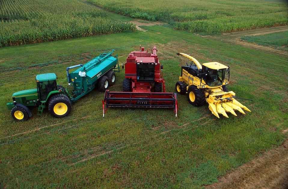 Feilds clipart farm machinery #8