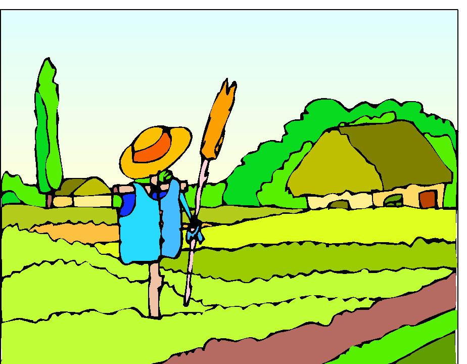Cornfield clipart wheat plant Panda Farm Art Clipart Clip