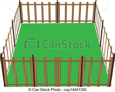 Barn clipart fence Fence with – Art Clipart
