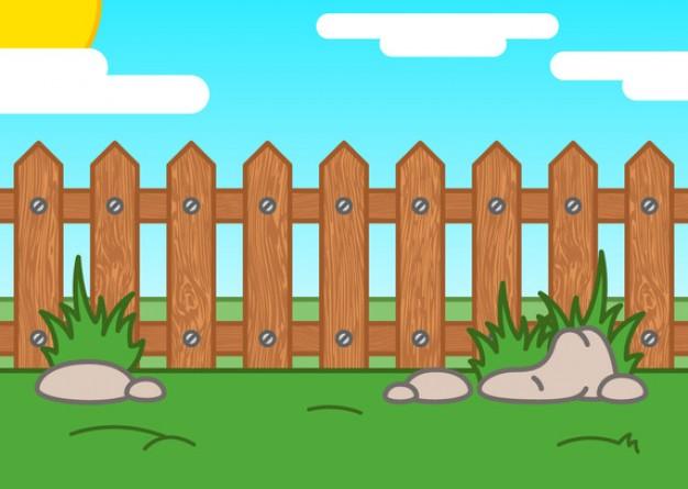 Feilds clipart fenced yard #4