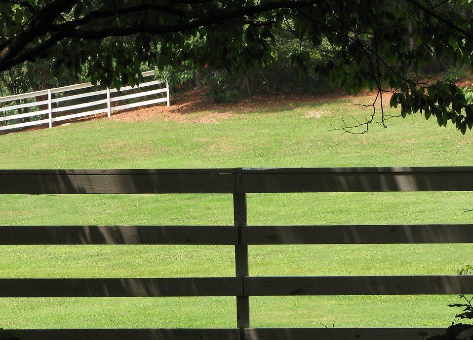 Feilds clipart fenced yard #3
