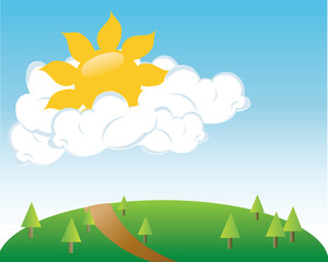 Beautiful clipart beautiful weather Field Clip Clipart Image collection