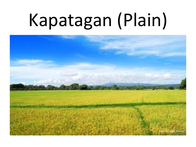 Feilds clipart kapatagan (Plain) tubig Kapatagan anyong at