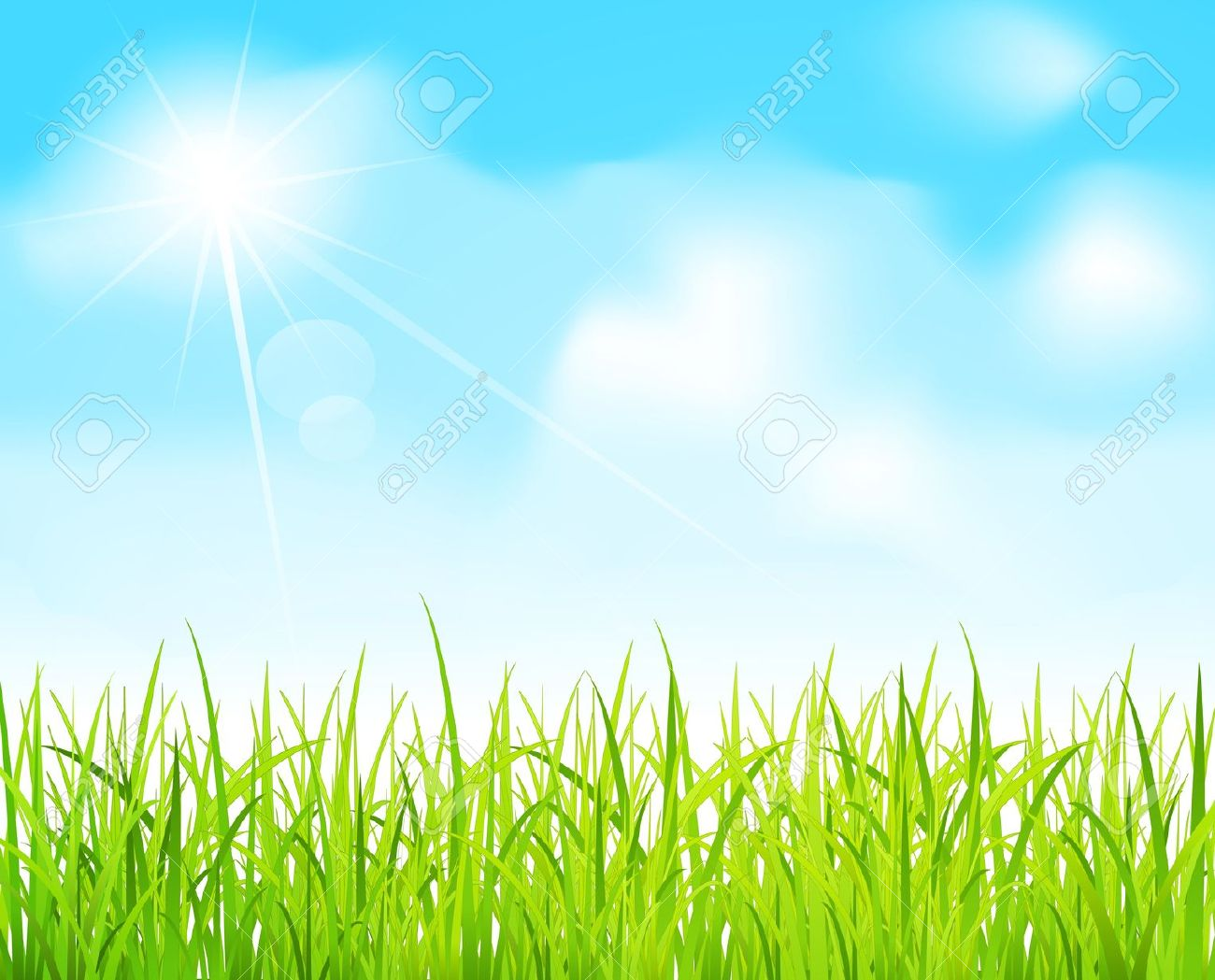 Feilds clipart lawn Field Sky Download Clip on