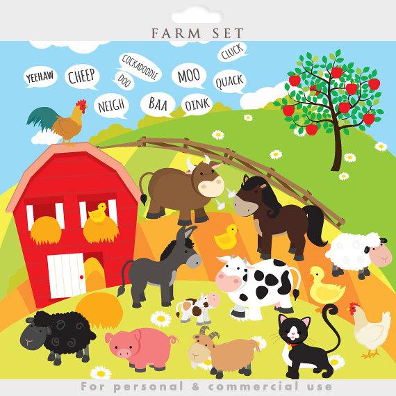 Feilds clipart sheep Goat farm Farm cow animals