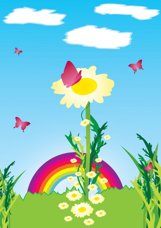 Outside clipart spring scene Download Clip Free Spring Cliparts