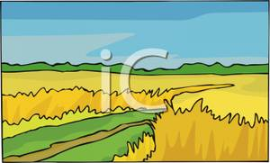 Feilds clipart wheat field Clipart Image: Clipart Wheat Royalty