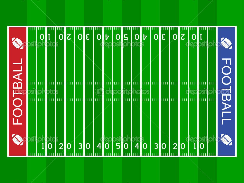 Feilds clipart yard Art Field Football Art Football