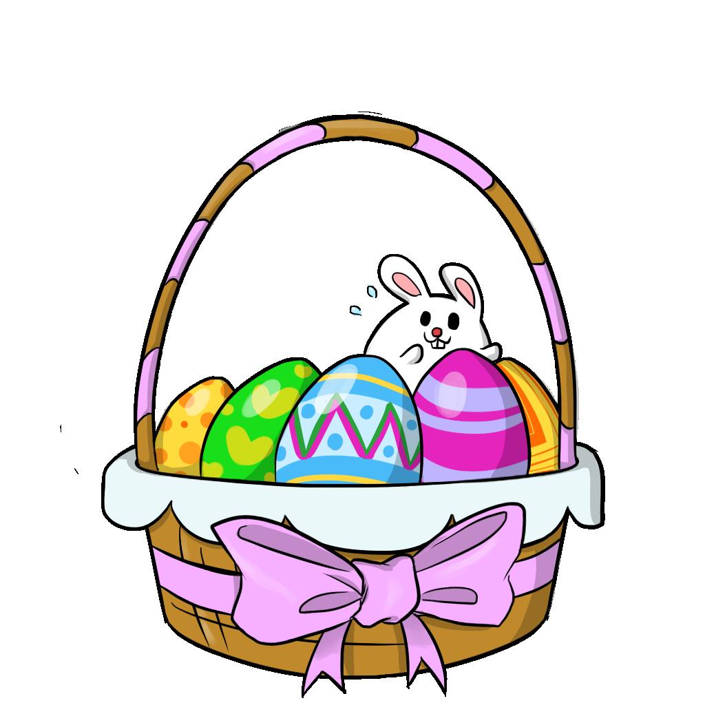 Easter clipart basketball #11