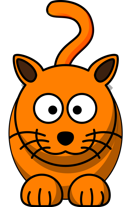 Orange clipart cat face Free dog Clipart Download to