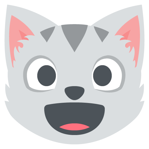 Cat clipart emoji Facebook With Cat Emoji Cat