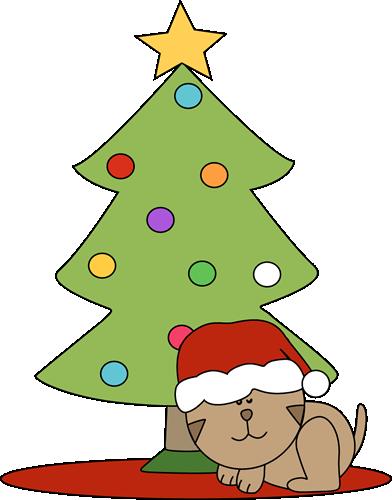 Tree clipart cat #5