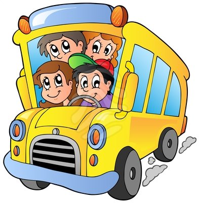 Vacation clipart bus School Clipart on Free Clipart