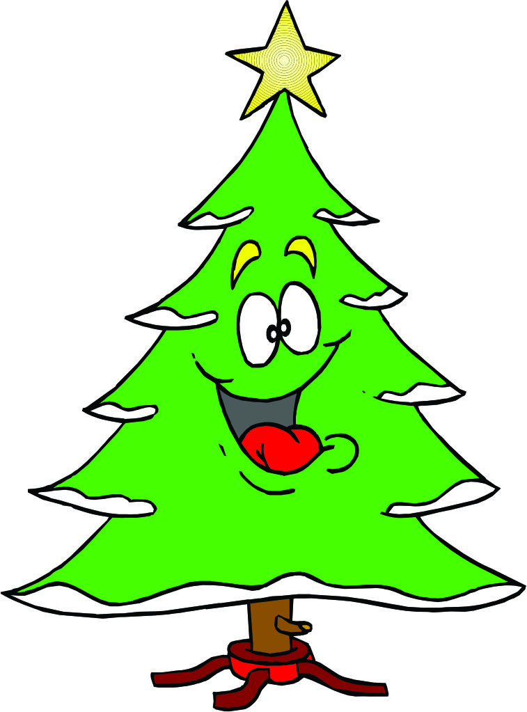 Christmas Tree clipart rustic Cartoon  Clip Tree quotes