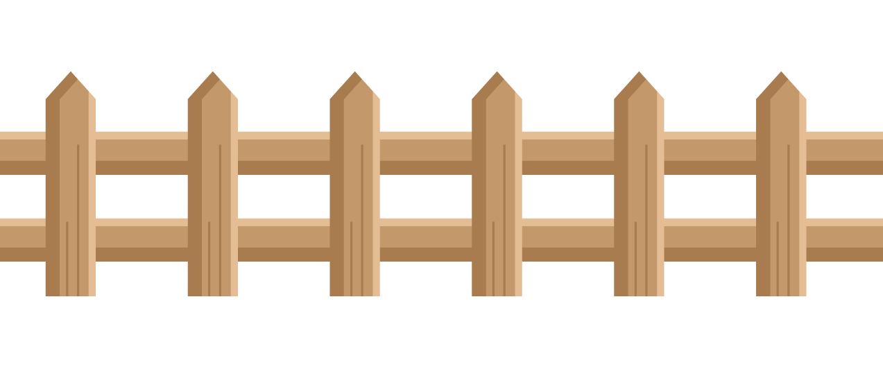 Fence clipart #7