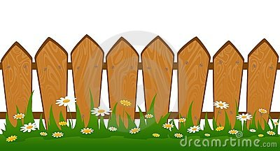 Fence clipart #15
