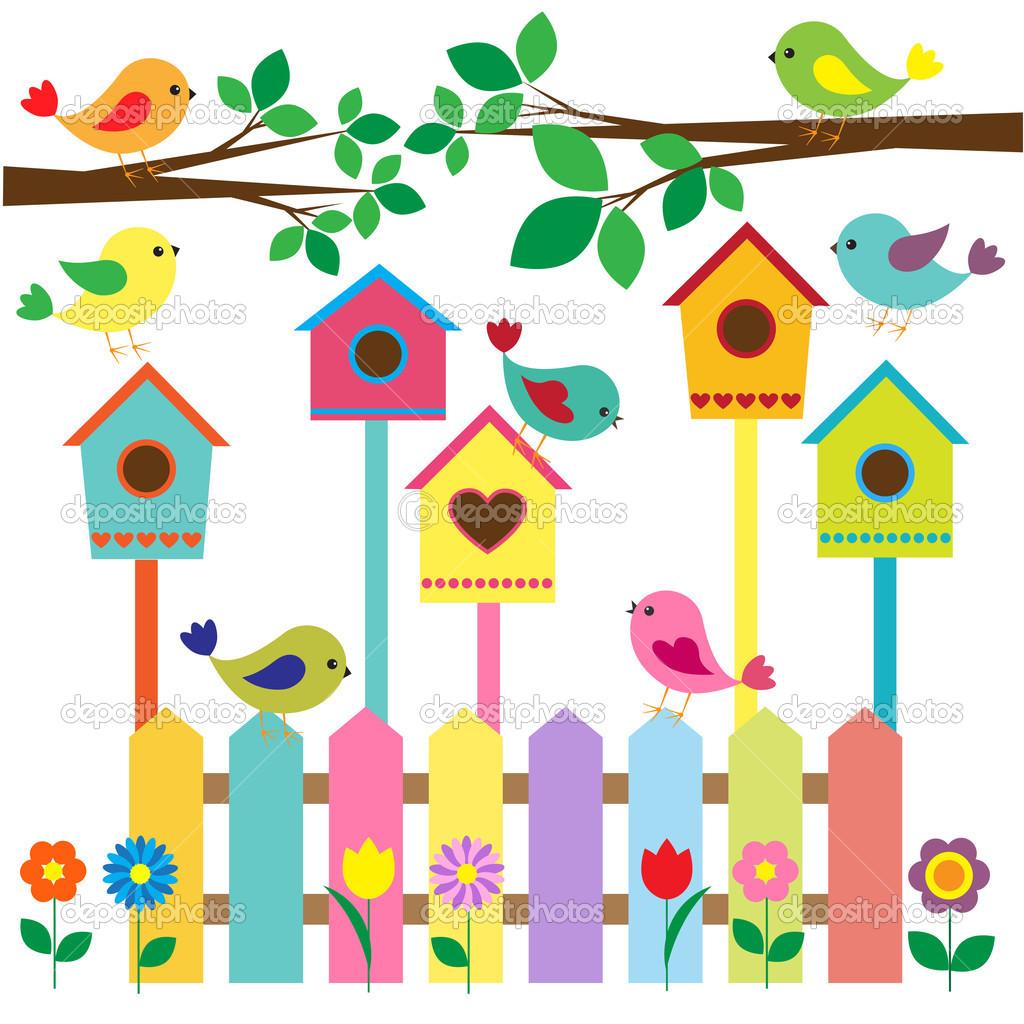 Bird House clipart fence Cute%20birdhouse%20clipart Clipart Clipart Cute Images