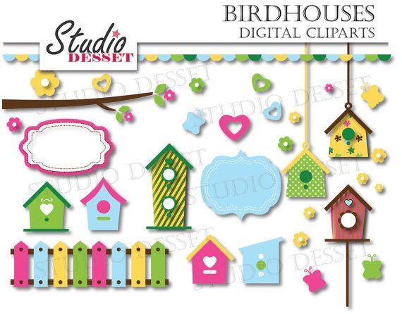 Bird House clipart fence SUMMER 25 OFF House Trees
