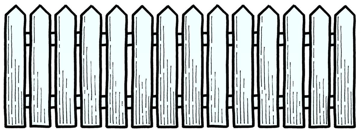 Barn clipart fence Clipart Fences Clip collection Fence
