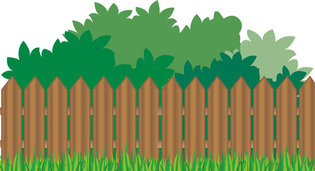 Background clipart fence 1280x696 Art nice collection fence
