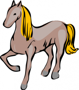 Fence clipart horse jumping #11