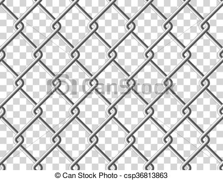 Cage clipart fence Clip  seamless fence csp36813863