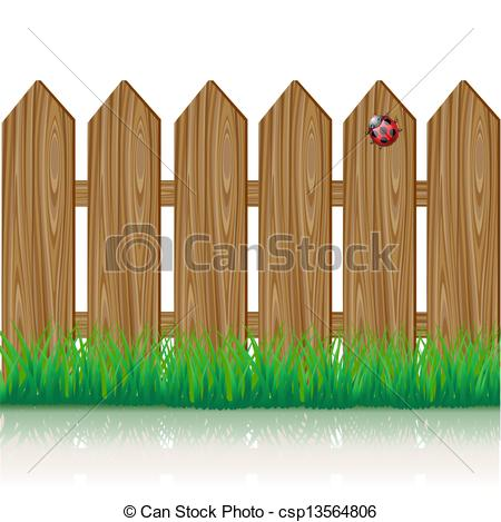 Brown clipart picket fence Picket fence Wooden collection Illustrations