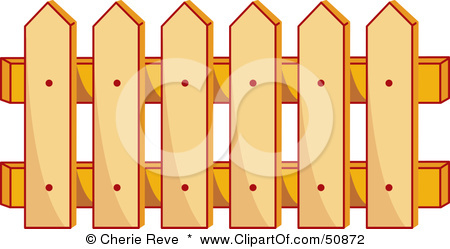 Yellow clipart fence Clipart fence Wooden clipart Collection