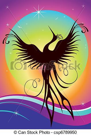Fenix clipart Illustration Phoenix Fenix Vector bird