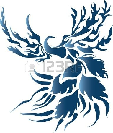 Fenix clipart blue Pin AVE AVE 136 Pinterest