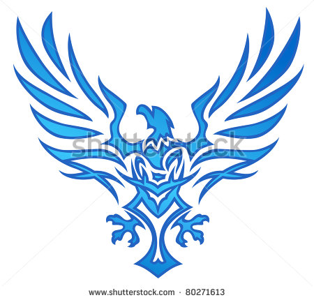 Fenix clipart blue FENIX Tattoo  Eagle FENIX