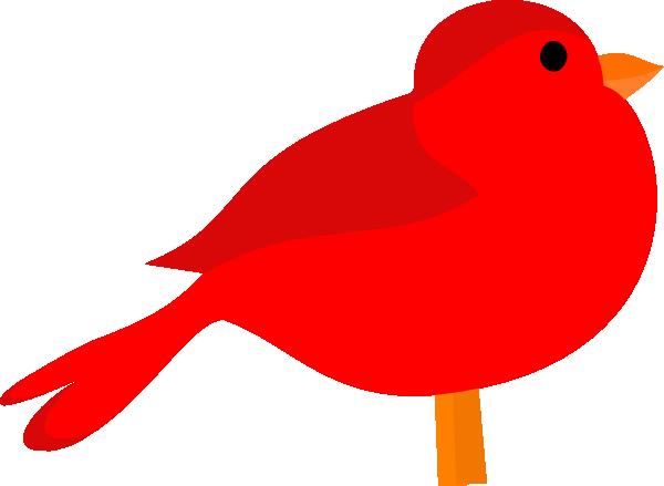 Bird clipart line art Art  at Red art