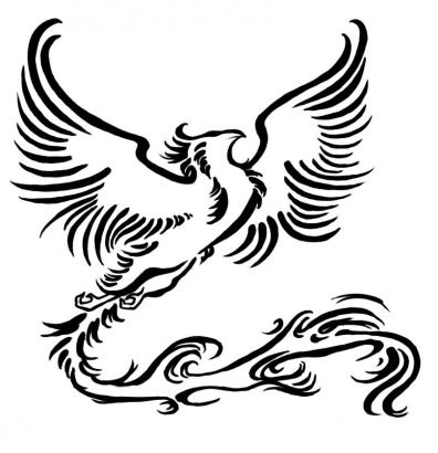 Fenix clipart coat arm About phoenix on tribal Pinterest