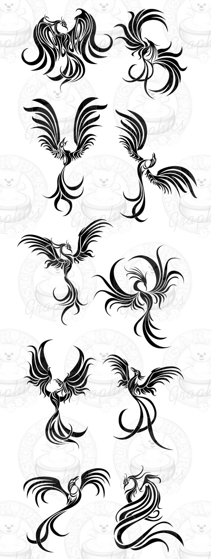 Fenix clipart hans Bird Tattoo 25+ Best you