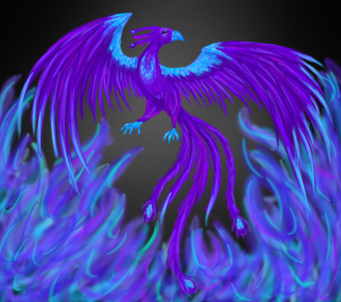 Fenix clipart purple By Purple Phoenix com com