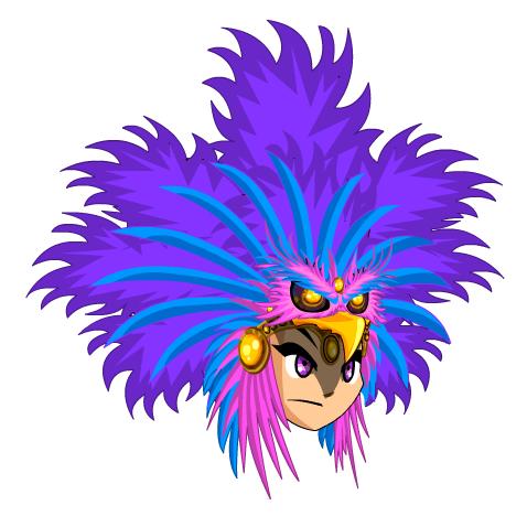 Fenix clipart purple Mana png AQW Headress FCV3jnK