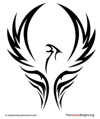 Fenix clipart stencil Black  result about for