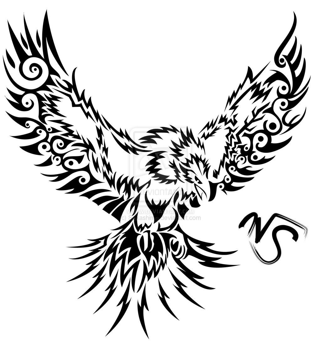 Fenix clipart stencil By on ~Sakashima by tattoo