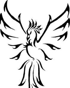 Fenix clipart tribal Designs imagem phoenix Tattoos Resultado