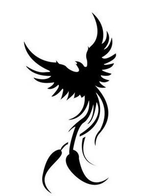 Fenix clipart tribal Great on tattoo Tribal Pictures