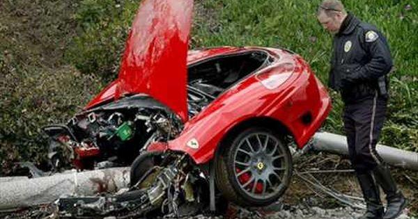Crash Car Clip Cartoon
